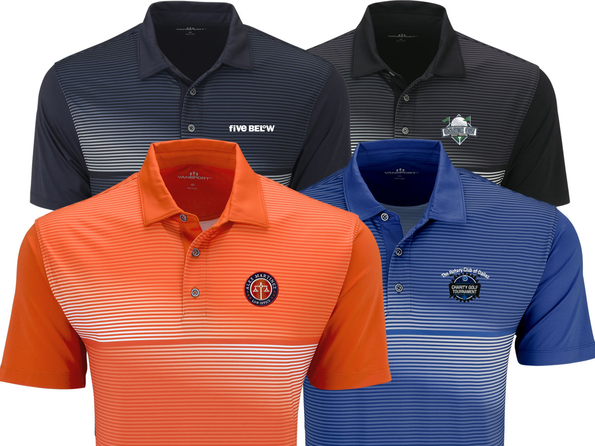 51a844c9 ... easy to add a logo on the left chest or sleeve. Embroidery or die-mold  transfers are the recommended decoration methods for customizing this polo  shirt.