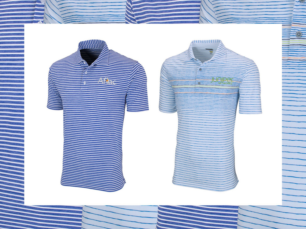 Vansport Riviera Polo (style 2495), Greg Norman ML75 Wave Polo (style GNS0K582)