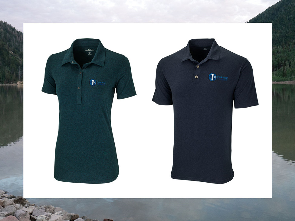 The Vansport Planet Polo (women's style 8061, men's style 8060)