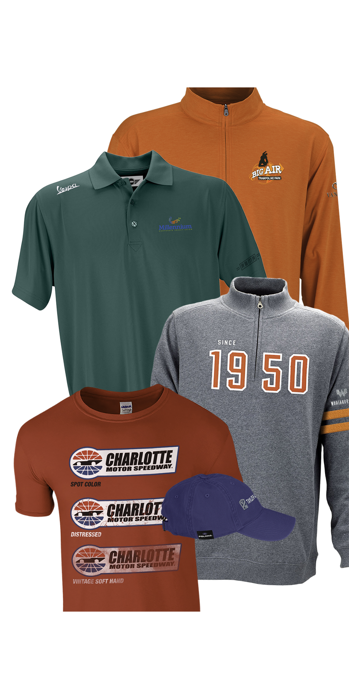 90a2869b Vantage Apparel - Nation's Top Supplier for Custom Logo Apparel