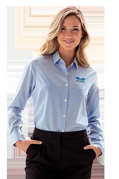 e336d13ddaf Button-Downs |Women's Patterned Dress Shirt | Vansport