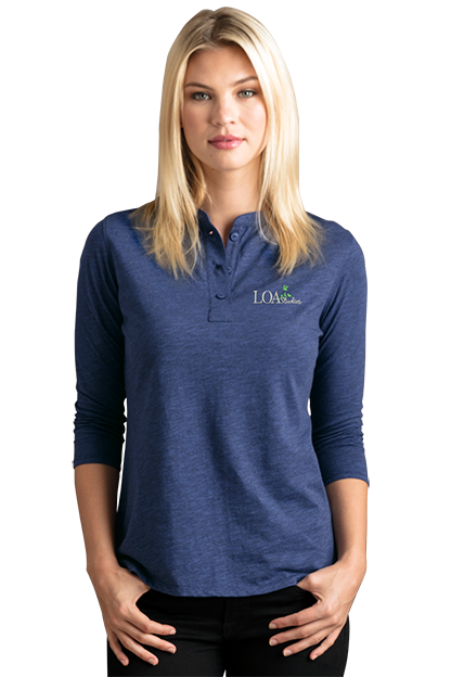 Henley Shirt For Women