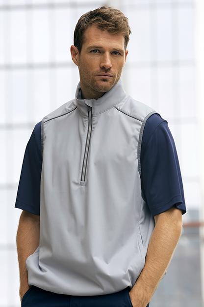 Greg Norman ¼-Zip Weatherknit Vest