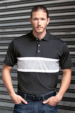 4b111d2be1 NEW FASHION POLOS. Look for non-traditional and unexpected details  including collarless golf shirts ...