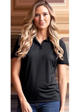 2601_Women's Vansport Omega Solid Mesh Tech Polo-