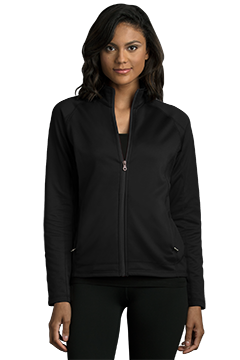 3271_Women's Brushed Back Micro-Fleece Full-Zip Jacket-Vantage