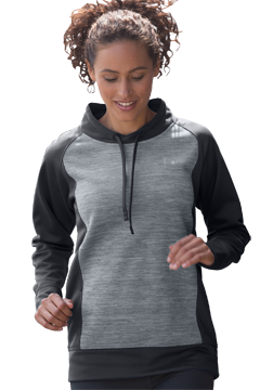 3274_Women?s Vansport Spacedye Blocked Pullover-Vansport