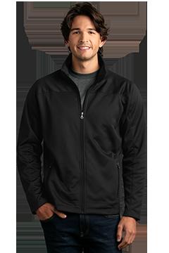 3275_Brushed Back Micro-Fleece Full-Zip Jacket-Vantage