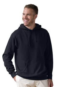 3287_Premium Lightweight Fleece Pullover Hoodie-Vantage