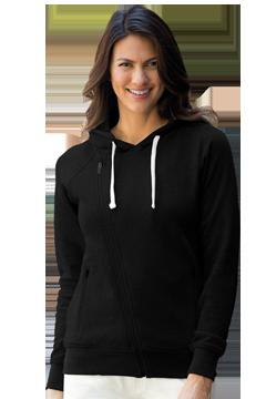 3298_Women's Fleece Moto Jacket-
