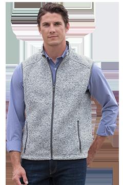 3307_Summit Sweater-Fleece Vest-Vantage