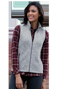 3308_Women?s Summit Sweater-Fleece Vest-Vantage