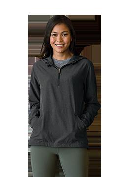 6106_Women's Pullover Stretch Anorak-