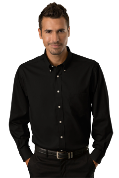 VANH0521_Van Heusen Easy-Care Dress Twill Shirt-Van Heusen