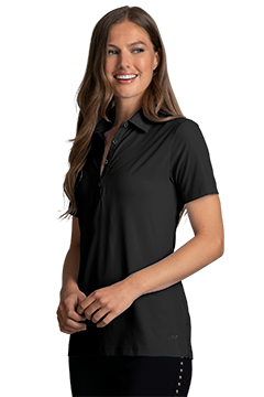 WNS0W342_Women's Greg Norman X-Lite 50 Solid Woven Polo-Greg Norman