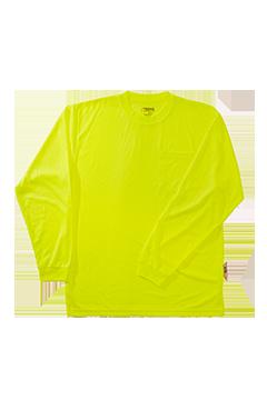 XVPT9005_Xtreme Visibility HiViz Long Sleeve T-Shirt-Xtreme Visibility