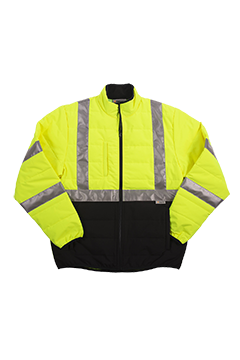 XVSJ7487B_Xtreme Visibility Puffer Quilted Jacket-Xtreme Visibility
