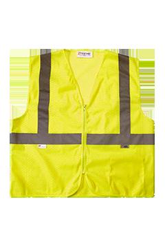 XVSV3315MZ_Xtreme Visibility Value Class 2 Zip Mesh Vest-