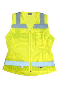 XVSV8015MZ_Xtreme Visibility Women's�Fitted Class 2 Vest-